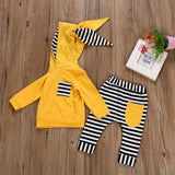'Bumble Bunny' Hooded Set