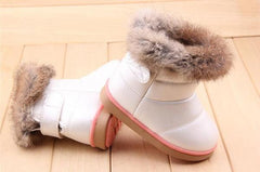 'Kenzie' Faux Rabbit Fur Boots