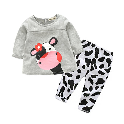 'Moo' 2-PC Happy Cow Set