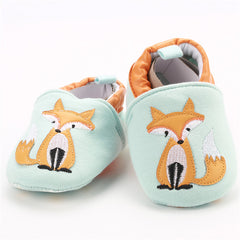 'Friendly Fox' First Walker Slippers