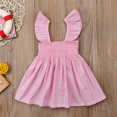 Ruffle Bow Summer Dress