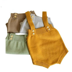 'Coty' Knitted Overalls