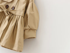 'Matilda' Double Breasted Trench Coat with Belt