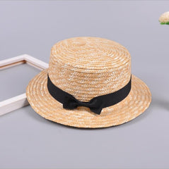'Debbie' Straw Ribbon Hat