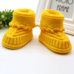 'Bailey' Crochet-Knit Booties