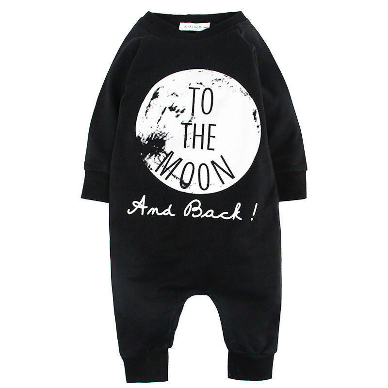 9ad3eae09 No Sleep  or  To The Moon  Baby Boy One Piece Romper  Jumpsuit