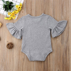 'Claire' Flare-Sleeved Onesie