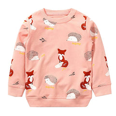 'Woodland' Cartoon Sweatshirt