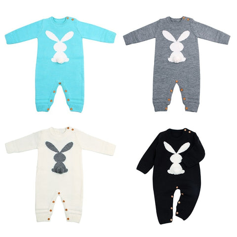 'Baby Bunny' Knit Jumpsuit