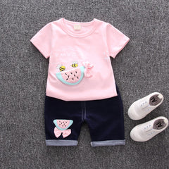 'Melon' T-Shirt + Shorts Set