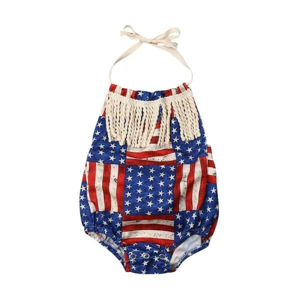 'Mini Liberty' Romper
