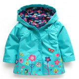 'Wildflower' Waterproof Toddler Windbreaker