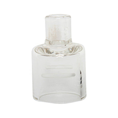 Glossy RDA Replacement Pyrex Glass Cap Clear for 22mm