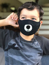 Black Bear Fabric Mask - Kid