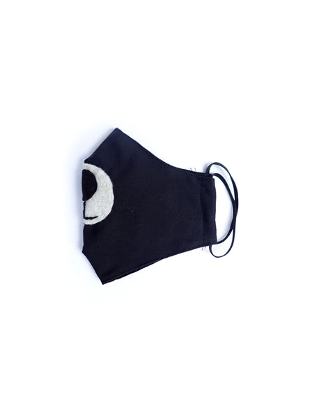Pre-order Black Bear Fabric Mask - Kid