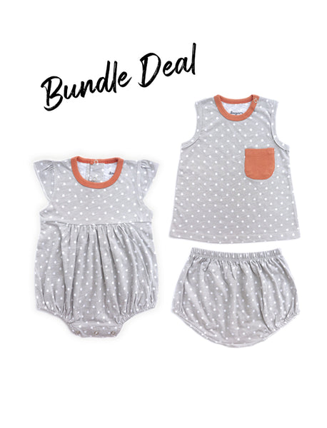 Bundle Deal Dotti Grey Sets