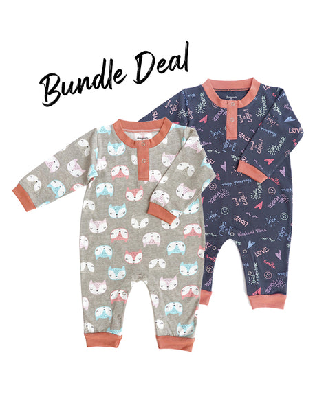 Bundle Deal  PJ Jumpsuit