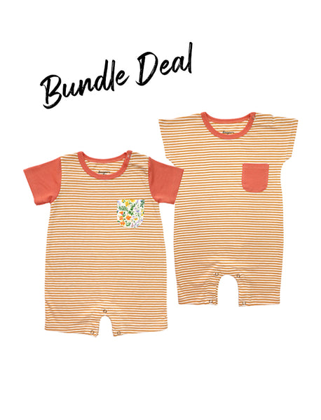 Bundle Deal Marigold Rompers