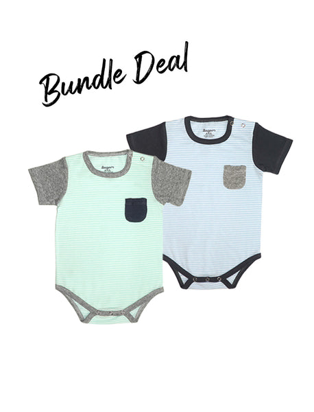 Bundle Deal Super Soft Pastel Romper