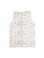 Forest Beige Speckles Sleeveless Top