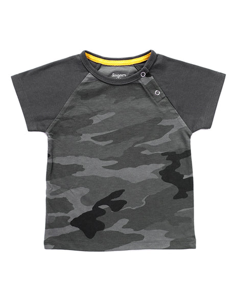 Forest Grey Short-Sleeves T-shirt