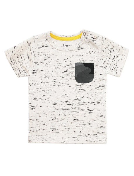 Forest Beige Speckles Short-Sleeves T-shirt
