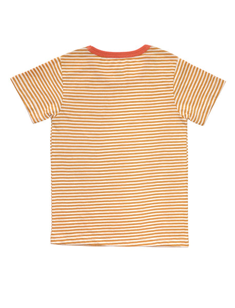 Marigold Front Button Short-Sleeves T-shirt