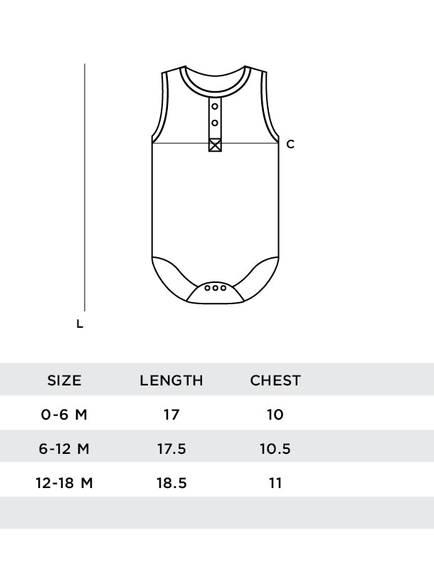 Lila Sektion Sleeveless Onesie