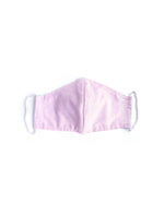 Pink Stripe Fabric Mask - Kid