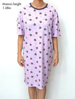 Comfy Cat Pajamas Dress
