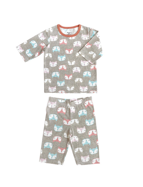 Xmas Kids PJ and Medium Snuggle Friend Set
