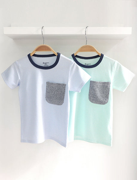 Super Soft Pockety Pastel Tee
