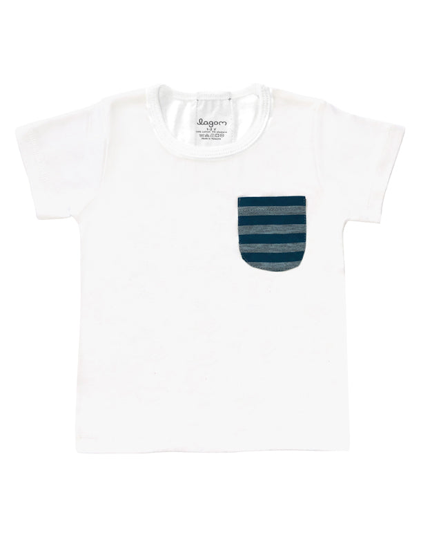 Randig Svans Short-Sleeves T-shirt