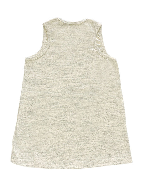 Röd Roligt I Randigt Sleeveless Tunic Dress