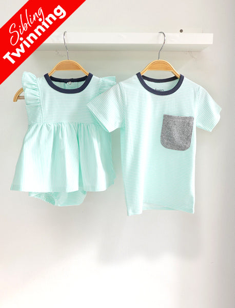 Sibling Twinning Super Soft Pastel Set B