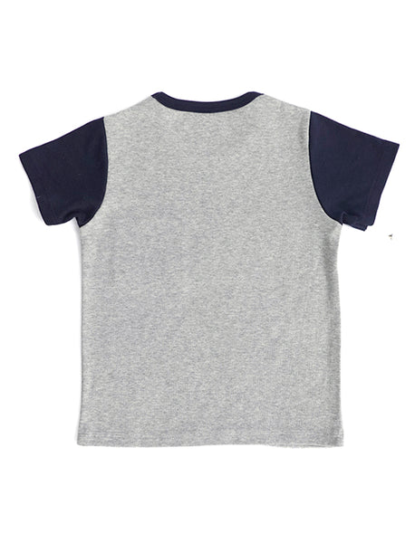 Dotti Grey Short Sleeves Tee
