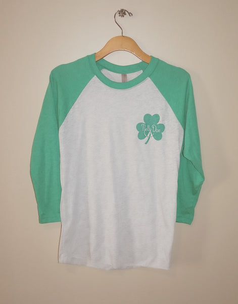 Nelly Don Shamrock Raglan
