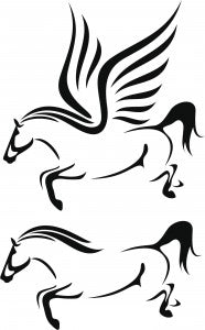 pegasus to horse