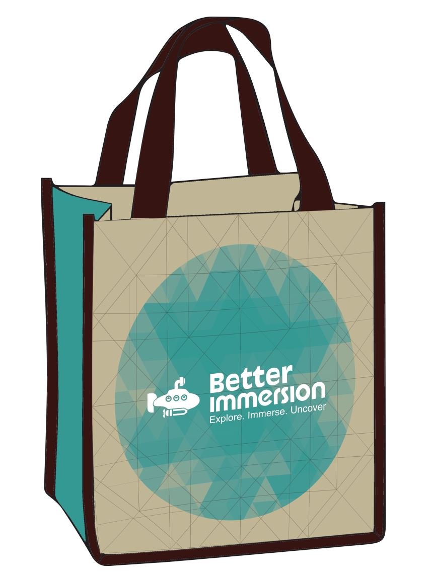 Better Immersion Eco-Friendly Grocery Bag