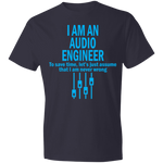 Audio Engineer Shirt