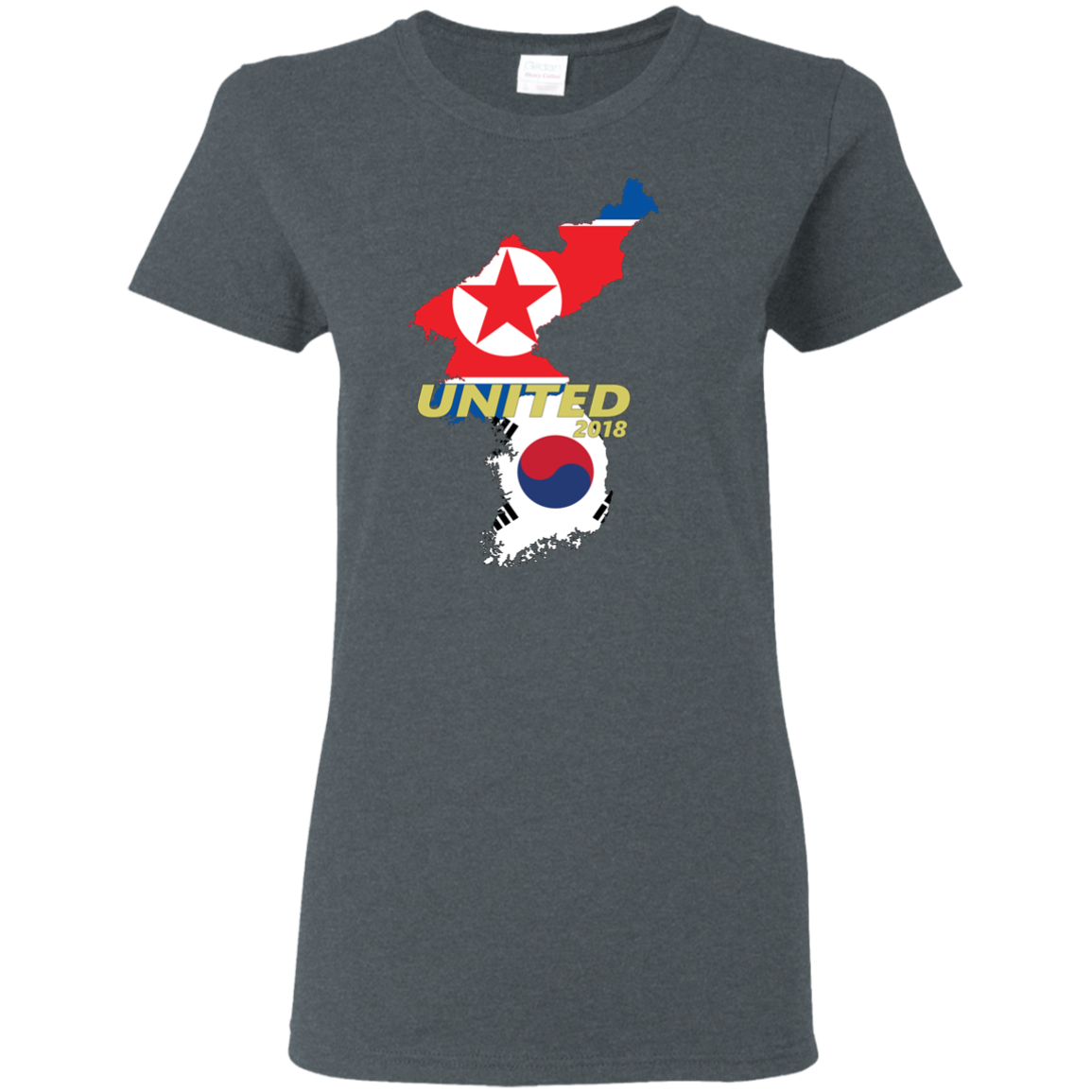 Women's Unified Korea T-Shirt