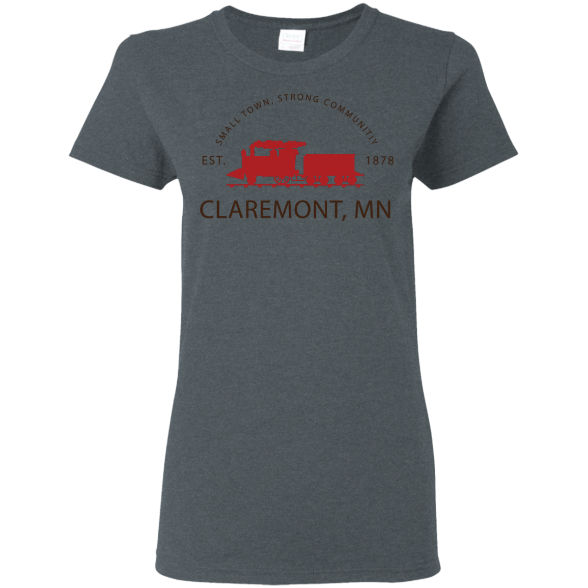 Ladies Claremont MN Shirt