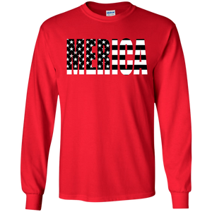 MERICA Long Sleeve T