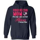 Firefighter Hoodie Firefighter Mom