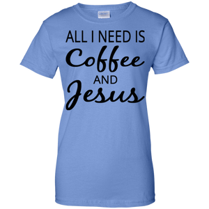 All I Need Is Coffee And Jesus - Crewneck Sweatshirt