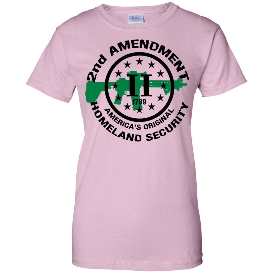 2nd Amendment Original Homeland Security Women's