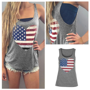 Women's Summer Patriotic Tank Top
