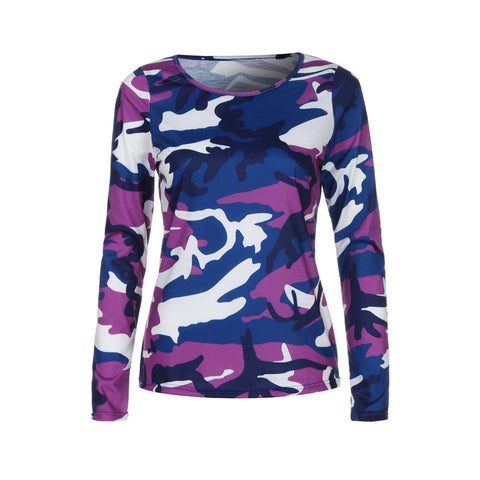 Womens Camouflage T-shirt