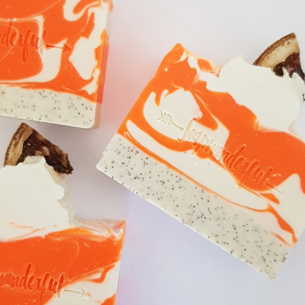 Clementine Cold Process Soap