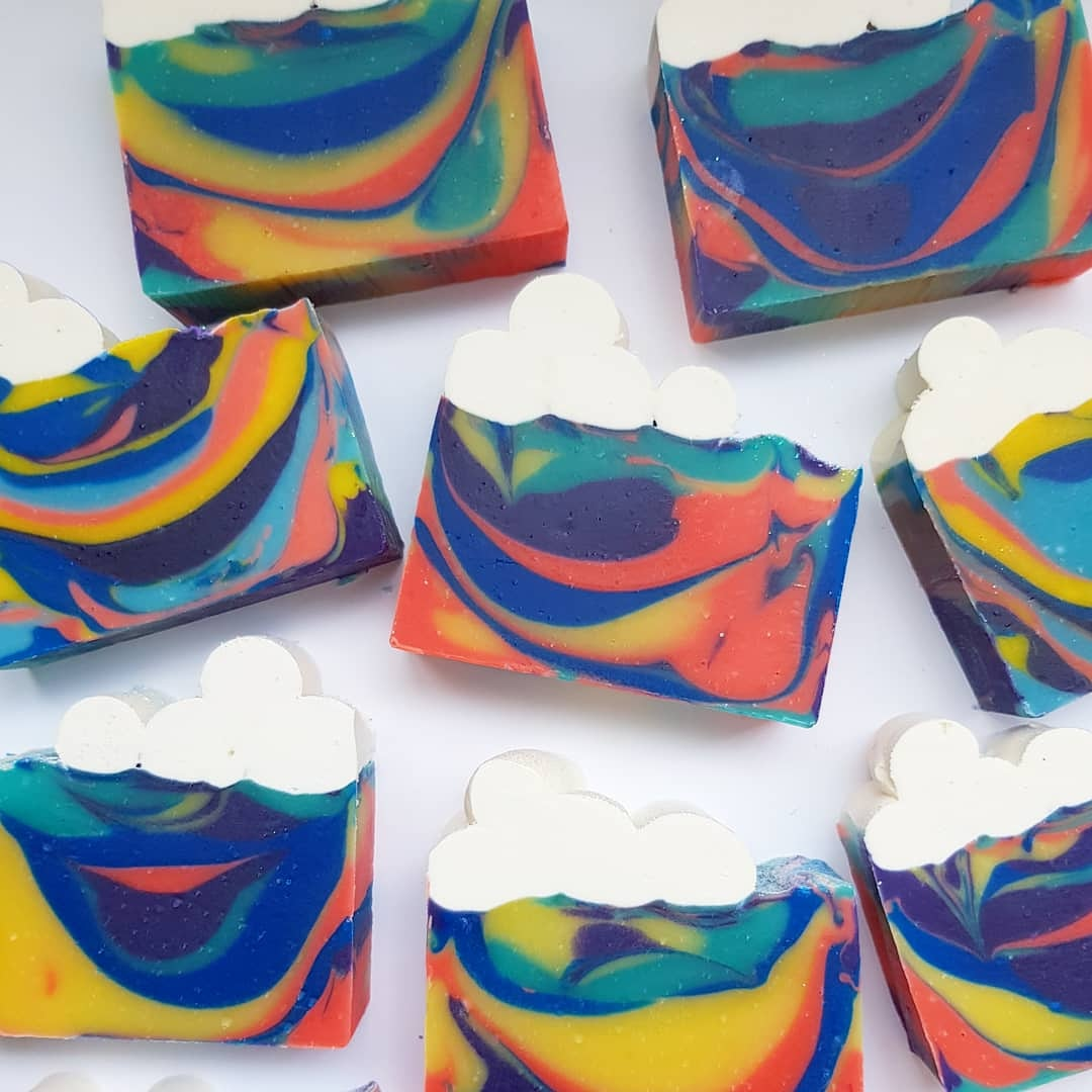 Oh happy day! Cold Process Soap